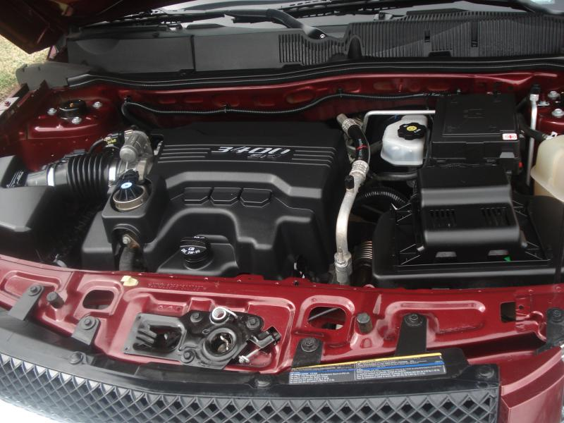 engine after Paul's Express Auto Detail